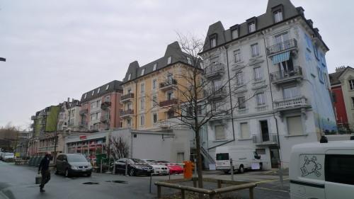 Renens, le nord, rue du Midi. 28 janvier 2015