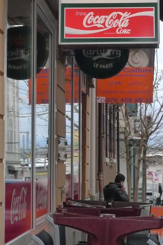 Renens-Gare, au nord, Rue neuve. 28 janvier 2015